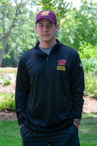 Black Flying C Central Michigan Lightweight 1/4 Zip