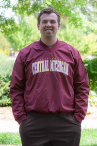 Central Michigan Chippewas Maroon V-Neck Pullover<br><small>FRANCHISE CLUB</small>