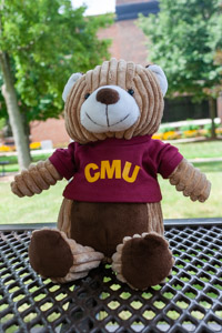 Corduroy Buddies Plush Bear with CMU Shirt
