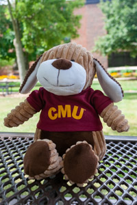 Corduroy Buddies Plush Dog with CMU Shirt