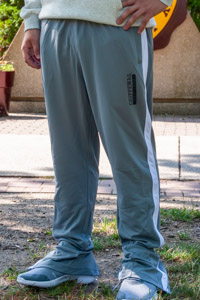 Chippewas Est. 1892 Steel Gray Track Pant<br><small>UNDER ARMOUR</small>