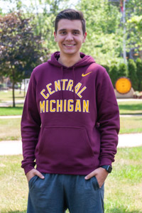 Nike Maroon Central Michigan Hoodie