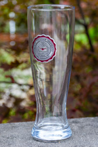 Central Michigan University Seal Pilsner Glass