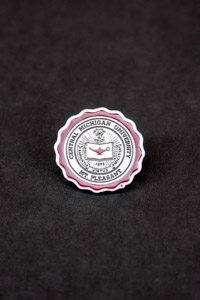Central Michigan University Seal Lapel Pin