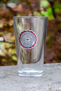 Central Michigan University Seal Pint Glass