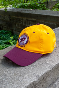 Central Michigan Chippewas Maroon and Gold Adjustable Hat