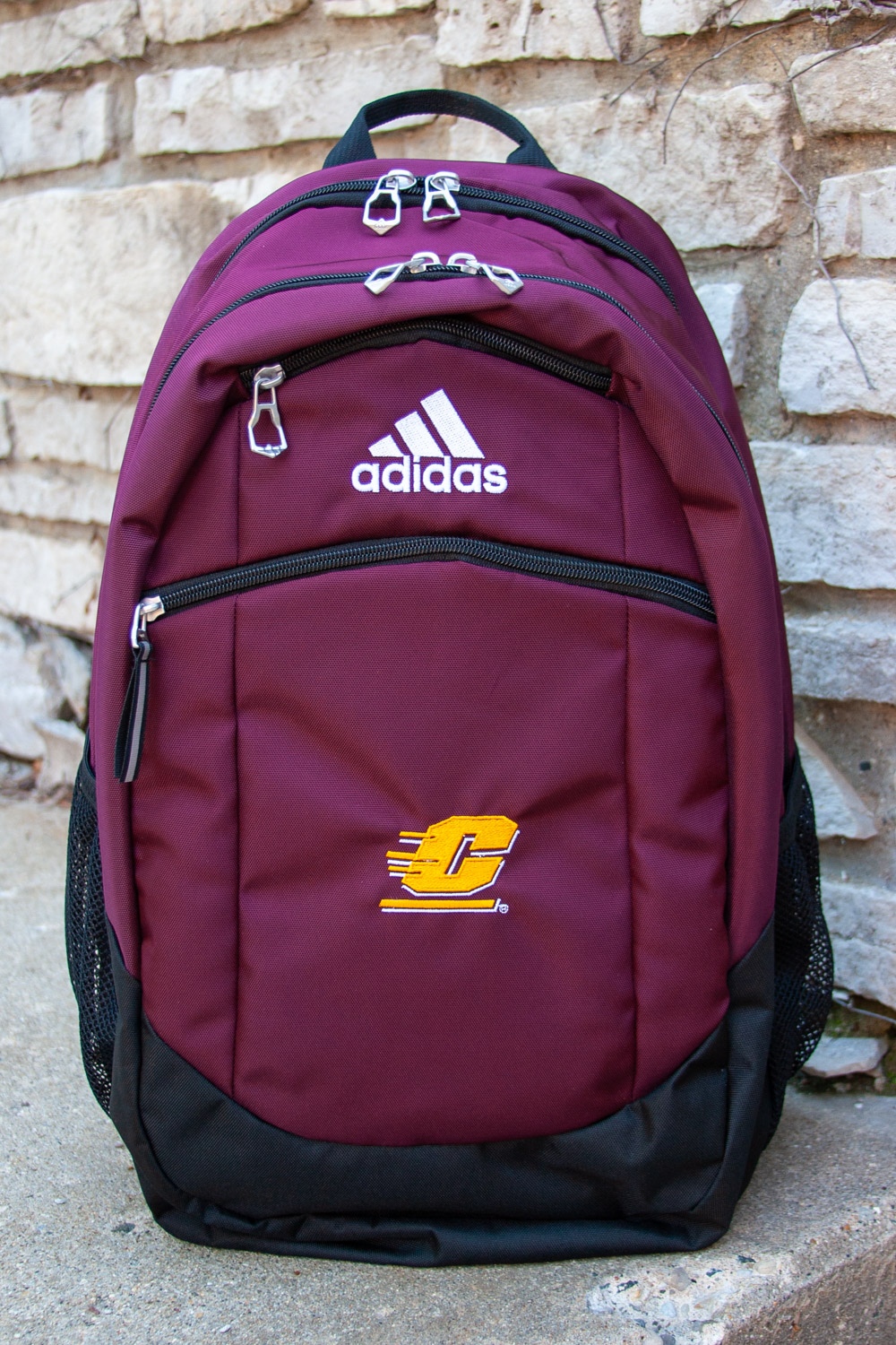 Adidas Striker Maroon Flying C Backpack (SKU 5044199070)