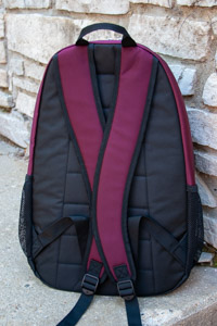 Adidas Striker Maroon Flying C Backpack