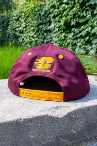 Adidas Maroon and Gold Chippewas Snap Back Hat