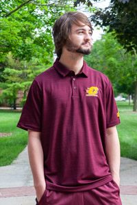 Adidas Maroon Flying C 2019 Game Mode Polo