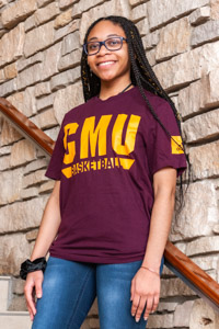 Adidas Sports CMU Basketball Maroon T-Shirt