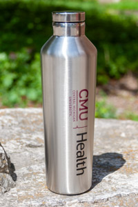 Cmu Health Stainless Steel Bottle