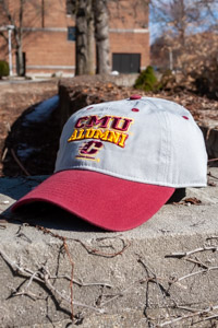 CMU Flying C Alumni Gray & Maroon Adjustable Hat