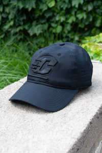 Black on Black Flying C Adjustable Hat