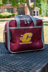 Maroon Flying C Insulated Soft Side Lunch Box