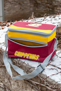 Blizzard Flying C Maroon and Gold 6-can Cooler