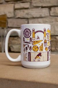 Julia Gash White CMU 15 oz Grande Ceramic Mug