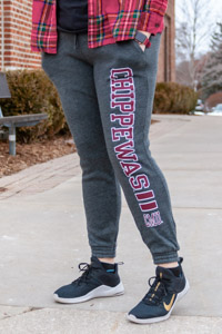 CMU Chippewas Charcoal Gray Women's Sweatpant<br><small>MV SPORT</small>