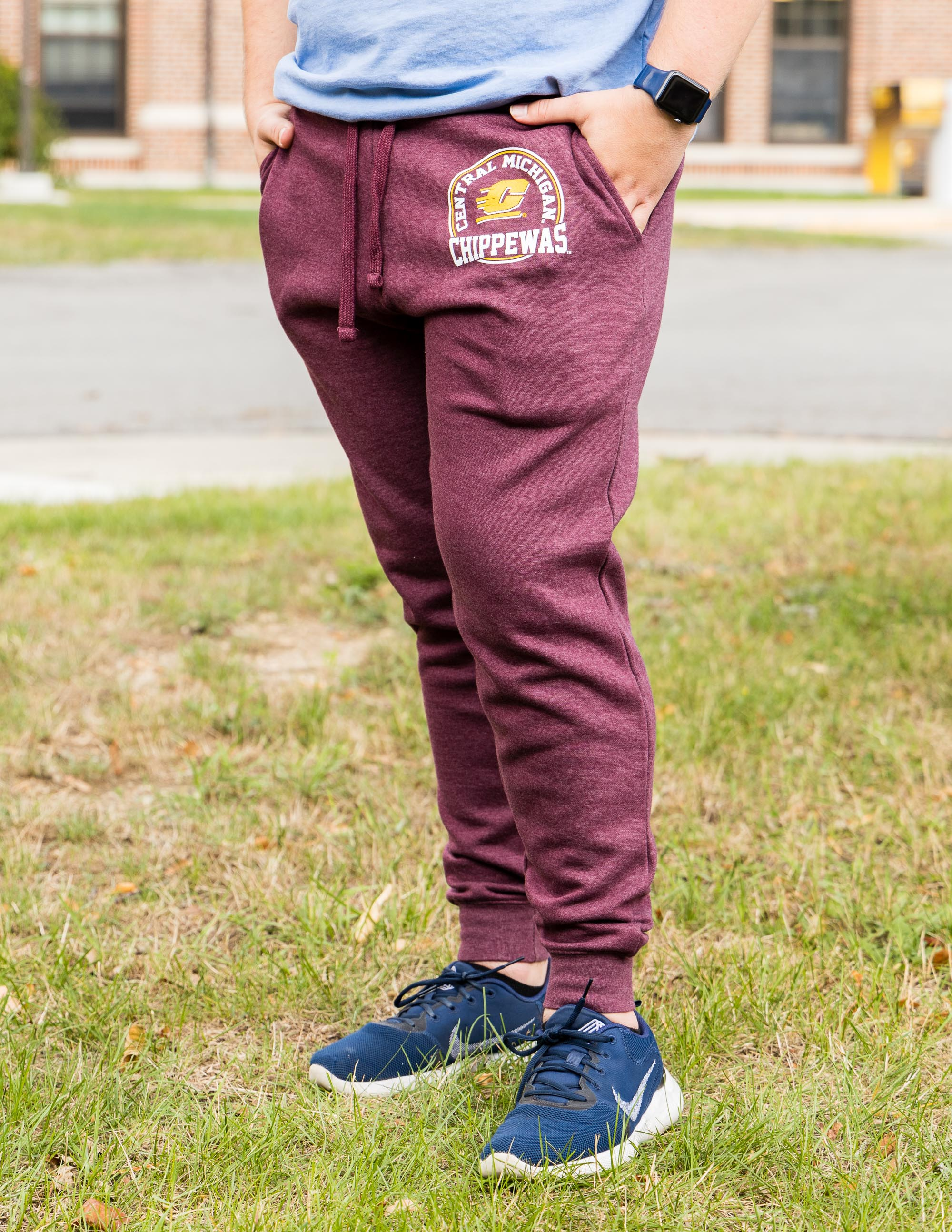 Central Michigan Chippewas Flying C Maroon Jogger<br><small>BLUE 84</small> (SKU 5047035898)