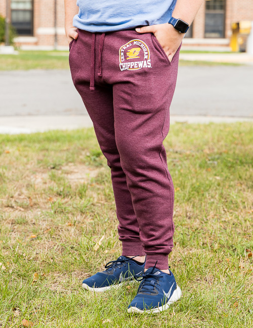 Central Michigan Chippewas Flying C Maroon Jogger<br><small>BLUE 84</small>