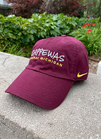 Chippewas Heritage86 Maroon Woman's Adjustable Ball Cap<br><small>NIKE</small>