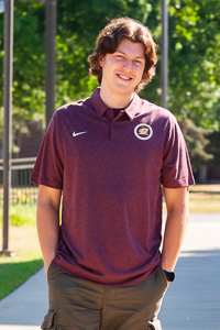 Central Michigan Maroon Heather Striped Polo<br><small>NIKE</small>