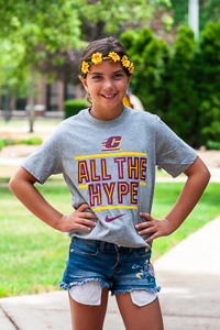 CMU All The Hype Heather Kids Core T-Shirt