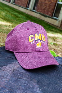 CMU Chippewas Maroon Adjustable Hat