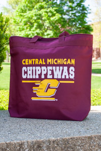 Central Michigan Chippewas Maroon Spectrum Tote