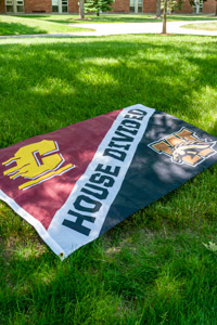 House Divided Central vs. Western Flag