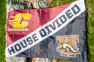 House Divided Central vs. Western Flag