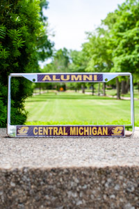 Central Michigan Alumni Flying C Metal License Plate Frame