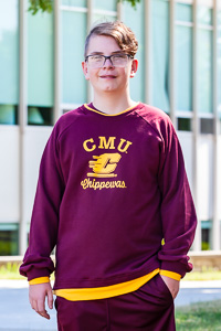 CMU Chippewas Flying C Maroon Crew<br><small>THIRD STREET</small>