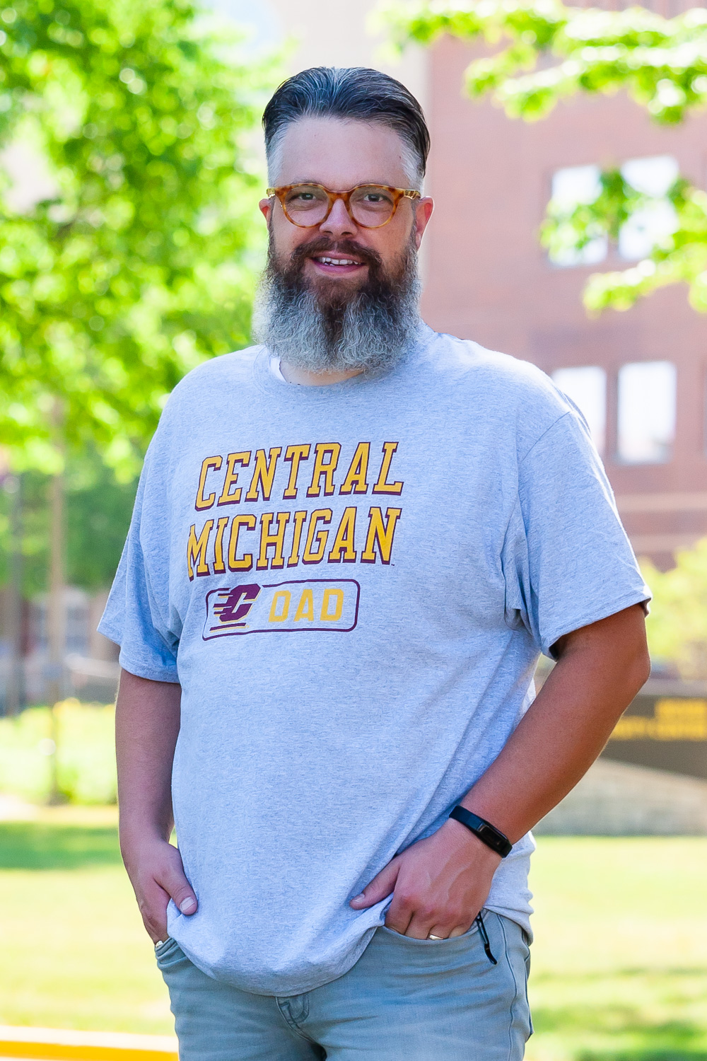 Central Michigan Dad Heather T-Shirt<br><small></small> (SKU 5048861298)