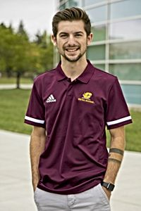 Flying C Central Michigan Maroon Tech Golf Shirt<br><small>ADIDAS</small>