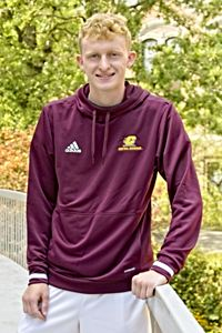 Flying C Central Michigan Maroon Tech Hoodie<br><small>ADIDAS</small>
