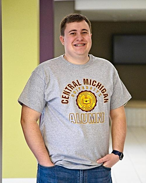 Central Michigan Alumni Seal Heather T-Shirt