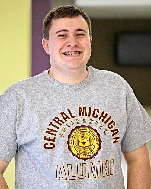 Central Michigan Alumni Seal Heather T-Shirt