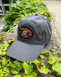 Central Michigan Chippewas Twill Adjustable Charcoal Hat