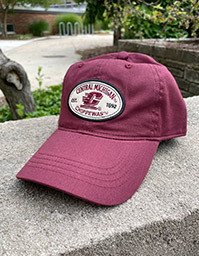 Central Michigan Chippewas Twill Adjustable Maroon Hat