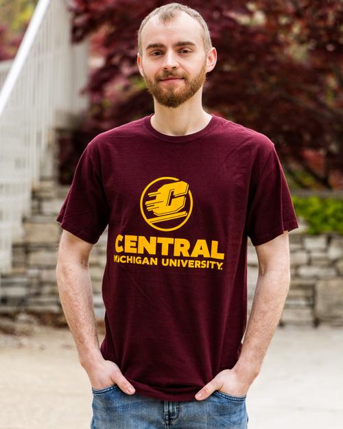 Embrace ProSphere Central Michigan University Mens Performance T-Shirt